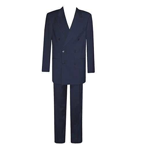 Boss, Anzug Zweireiher, 10608-060 Celsius Omega, nachtblau [13727]