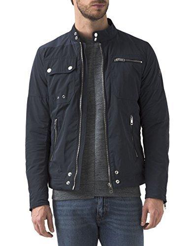 DIESEL - Herren- Wasserdichte Jacke mit Reißvevrschluss Ride Marineblau für herren