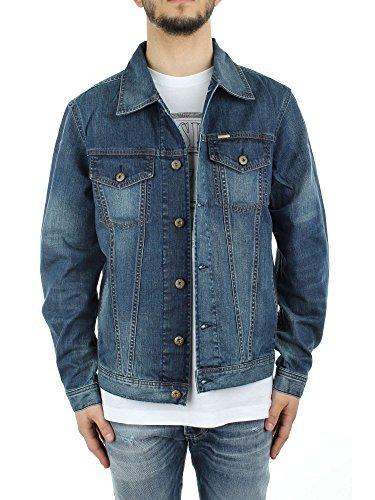 Diesel Herren Jeansjacke Jacke blau Blau - Washed Blue