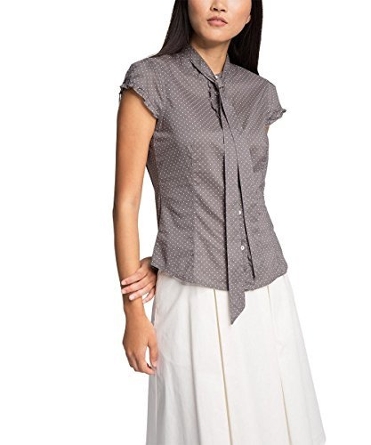 ESPRIT Collection Damen Bluse 056eo1f022-aus Baumwolle