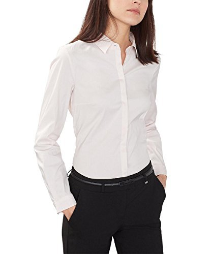 ESPRIT Collection Damen Bluse mit Stretch
