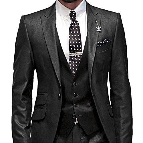 george bride herren anzug 5 teilig anzug sakko weste anzug hose krawatte tasche platz 002. Black Bedroom Furniture Sets. Home Design Ideas