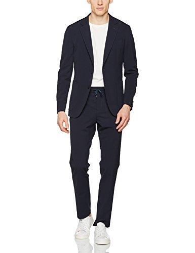 Tommy Hilfiger Tailored Herren Anzug Blk-Hl-2pp-Trp Stssld17208