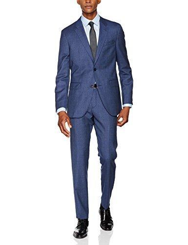 Tommy Hilfiger Tailored Herren Anzug Nmr-Wll Stschk17203