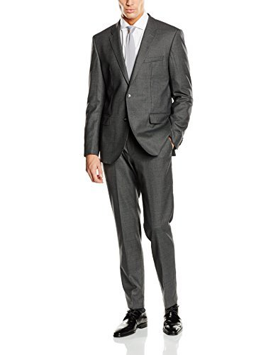 Tommy Hilfiger Tailored Herren Anzug Wool Stretch Regular Complete Suit