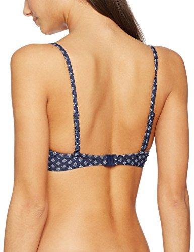 ESPRIT Bodywear Damen Bikinioberteil Orlando Beach Underwire, Blau (Navy 400), 38B (Herstellergröße: 38 B)