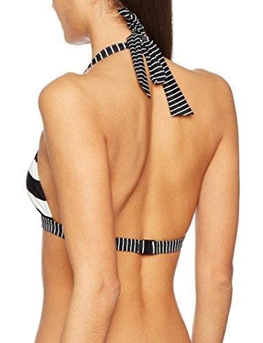 ESPRIT Bodywear Damen Bikinioberteil Redondo Beach Halterneck, Schwarz (Black 001), 40D (Herstellergröße: 40 D)