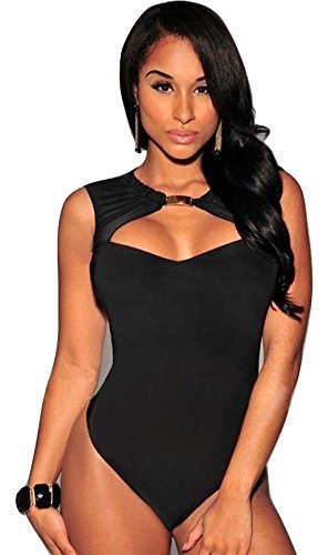 Damen Body, Schwarz, Größe 36-38