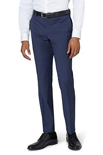 DKNY Slim Fit Blau Marl Anzug Hose