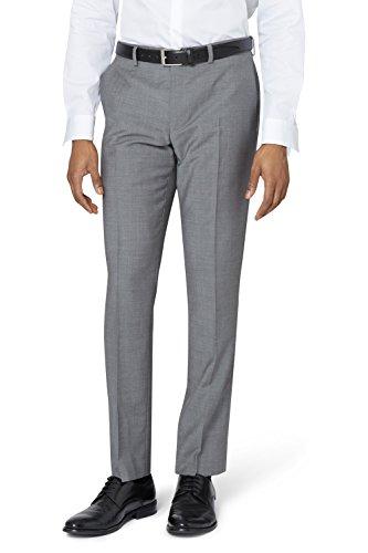 DKNY Slim Fit Hellgrau Anzug Hose