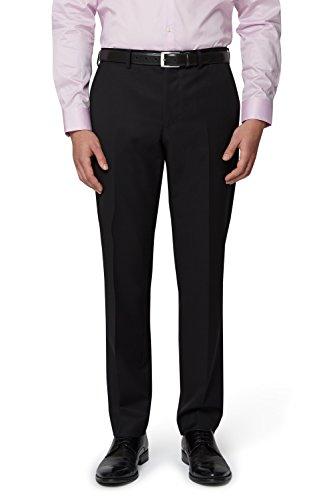 DKNY Slim Fit Schwarz Anzug Hose