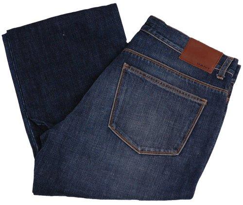 GANT Herren Jeans Hose 2.Wahl, Model: TYLER, Farbe: dunkelblau, Größe: W34/L34, NEU -, UPE: 149.90 Euro