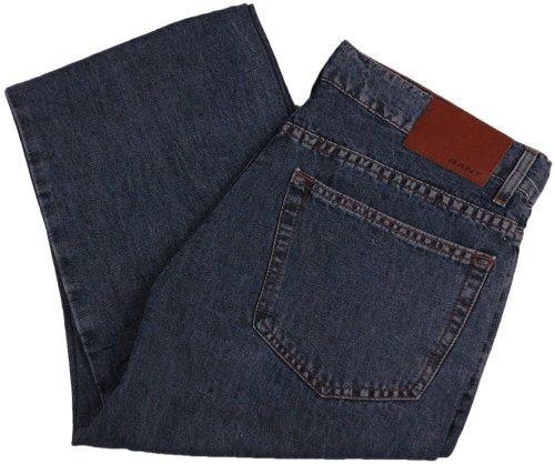 GANT Herren Jeans Hose TYLER, Größe: W32/L36, Farbe: dunkelblau, UPE:149.90 Euro, NEU