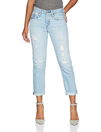 Levi's Damen Jeans 501 Tapered Boyfriend Fit