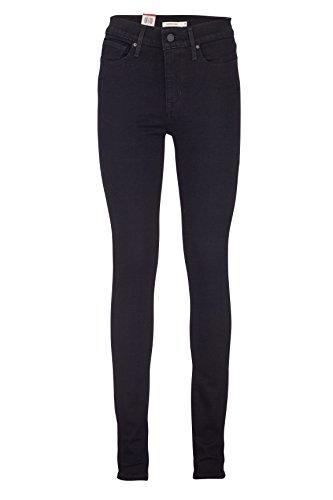 Levi's Damen Jeans Skinny Skinny Jeans SLIMMING SKINNY 0001 BLACKENED ASH