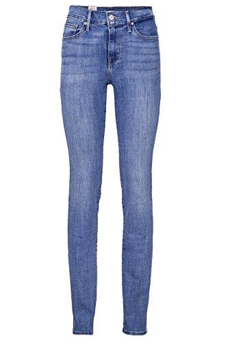 Levi's Damen Jeans Skinny Slim Leg Jeans SLIMMING SLIM 0002 CARMEL WA