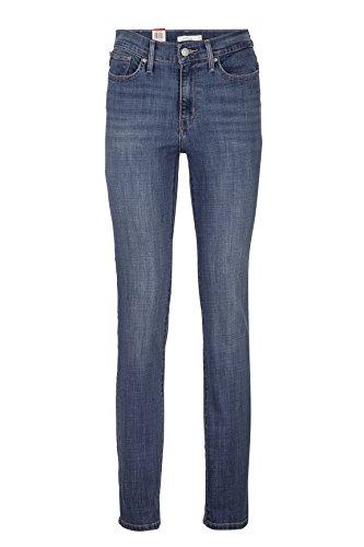 Levi's Damen Jeans Skinny Slim Leg Jeans SLIMMING SLIM 0003 BAY CAVERN