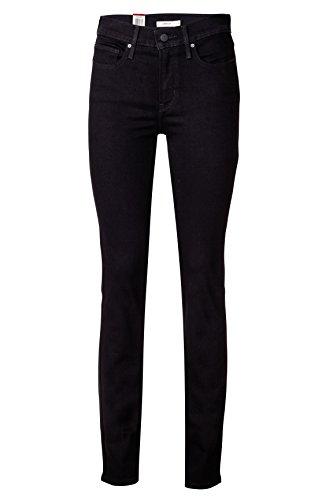 Levi's Damen Jeans Skinny Slim Leg Jeans SLIMMING SLIM 0005 BLACKENED