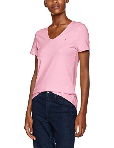 Tommy Hilfiger Damen Lizzy V-Nk T-Shirt Ss