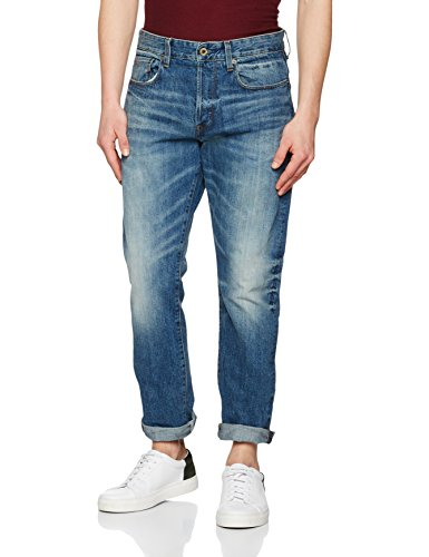 G-STAR RAW Herren Fit Jeans 3301 Tapered