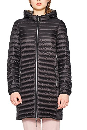 ESPRIT Damen Mantel 077EE1G010, Schwarz (Black 001), X-Small