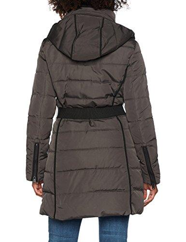 ESPRIT Damen Mantel 107EE1G004, Grau (Dark Grey 020), Large