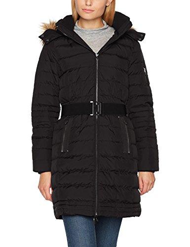 ESPRIT Damen Mantel 097EE1G013 Schwarz (Black 001), X-Large