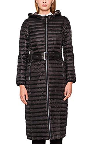 ESPRIT Damen Mantel 087EE1G029, Schwarz (Black 001), Large