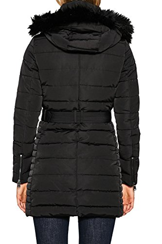 ESPRIT Damen Mantel 097EE1G042 Schwarz (Black 001), Medium