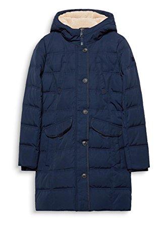 ESPRIT Damen Mantel 097EE1G020, Blau (Navy 400), X-Small
