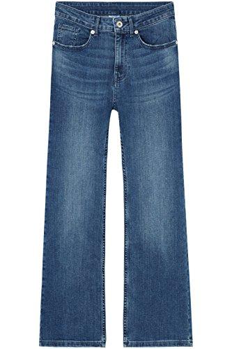 find. Damen Kurz geschnittene Schlag-Jeans