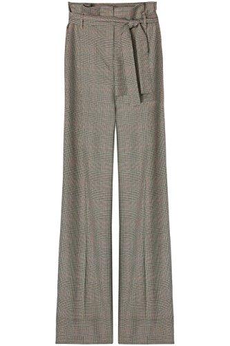 Amazon-Marke: find. Hose Damen mit weitem Bein und Karomuster