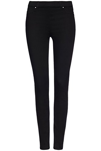 FIND Damen Röhrenjeans Comfort Stretch Black