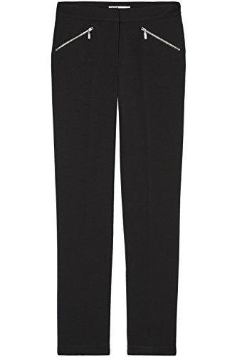 Amazon-Marke: find. Hose Damen schmales Bein und Taschen mit Reißverschluss
