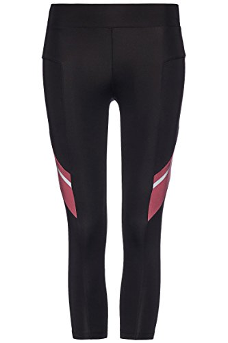FIND Damen Sport-Leggings mit Colour-Blocking