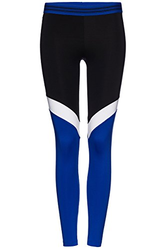 FIND Damen Sport-Leggings mit Colour Blocking