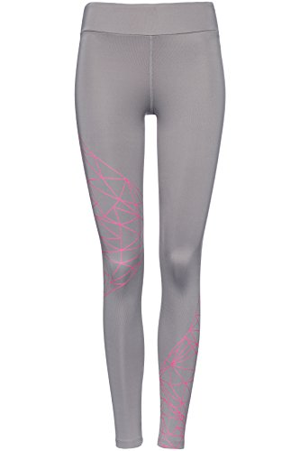 FIND Damen Sport-Leggings mit Geo-Print