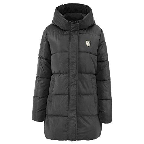 iBaste Winterjacke Damen Mantel Übergangsjacke Parka für damen Stehkragen Steppjacke Wintermantel Outwear-BK-XL