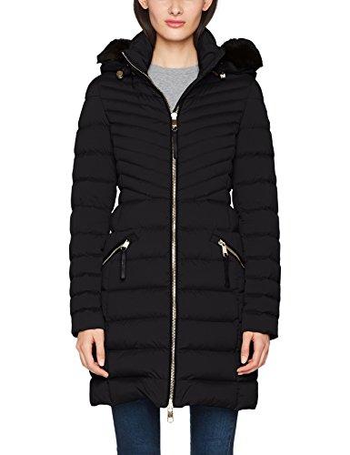 Tommy Hilfiger Damen Mantel New Nikki Coat, Schwarz (Black Beauty 094), 8 (Herstellergröße: Small)
