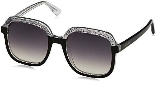 Jimmy Choo Sonnenbrille Glint/S 9C Multic Black, 53