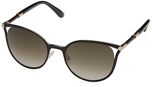 Jimmy Choo Sonnenbrille Neiza/S Ha Black Rose Gold Black, 54
