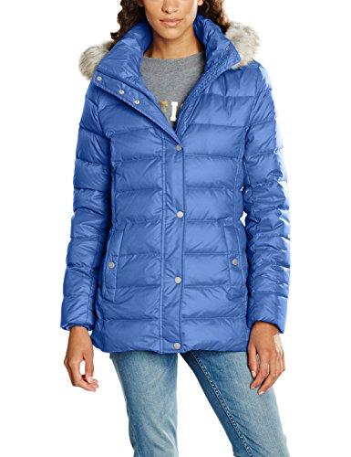 Tommy Hilfiger Damen Jacke New Tyra Down Jkt, Blau (Bright Cobalt 381), 38 (Herstellergröße: M)