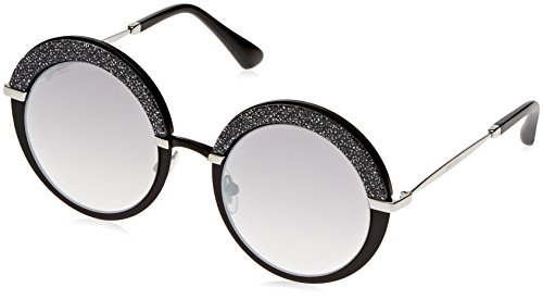 Jimmy Choo Sonnenbrille GOTHA Mtblackpalla With Gry Sf Slv Sp Lens, 50 mm