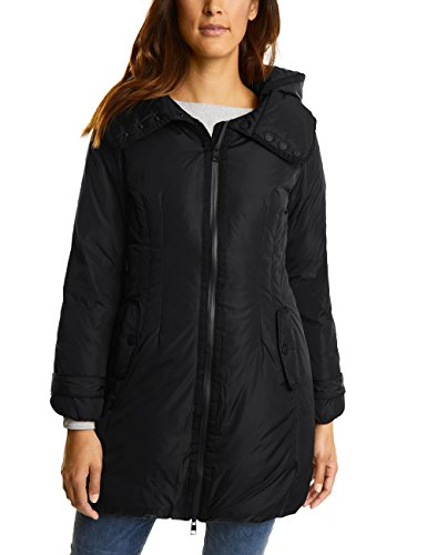 Street One Damen Mantel 100262, Schwarz (Black 10001), 36
