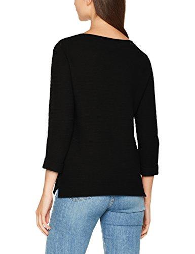 VERO MODA Damen Pullover Vmanna 3/4 Blouse Noos, Schwarz (Black Black), 34 (Herstellergröße: XS)