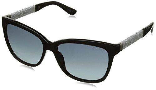 Jimmy Choo Sonnenbrille Cora/S Hd Bk Glitterbk, 56