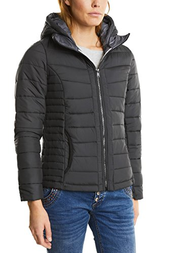 Street One Damen Jacke 200176 Blair, Schwarz (Black 10001), 42