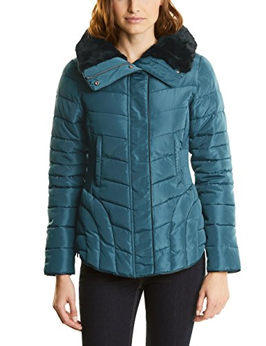 Street One Damen Jacke 200168, Türkis (Pacific Blue 10991), 40