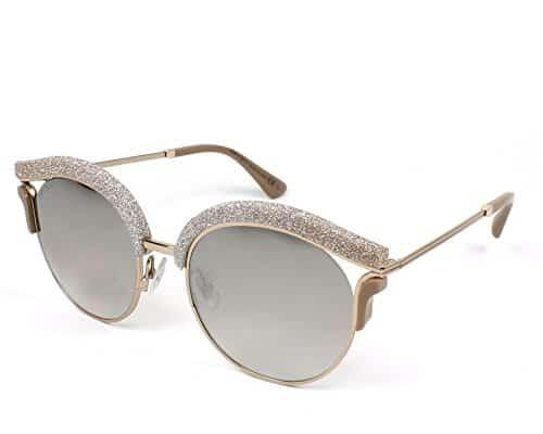 Jimmy Choo Sonnenbrille Lash/S Nq Brnzbei Gltt, 53