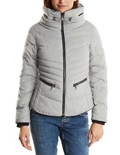 Street One Damen Jacke 200172, Grau (Misty Grey Melange 11030), 40